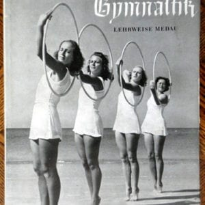 1940 PHOTO BOOK GYMNASTICS FOR GERMAN MAIDEN