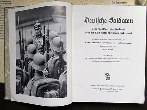 1935 PHOTO BOOK ON GERMAN MILITARY AND PARAMILITARY