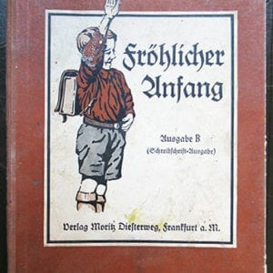 1935 'PATRIOTIC' NAZI SCHOOL BOOK FROM FRANKFURT