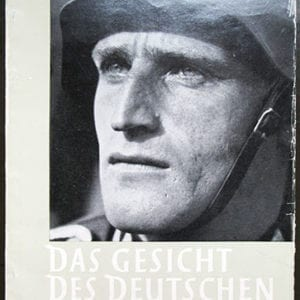 RARE ORIGINAL 1943 PHOTO BOOK 'THE FACE OF THE GERMAN SOLDIER'