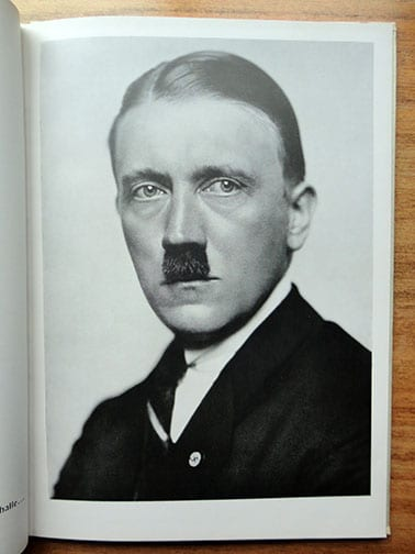 HITLER PORTRAIT PHOTOGRAPHS FROM 1919 TO 1939