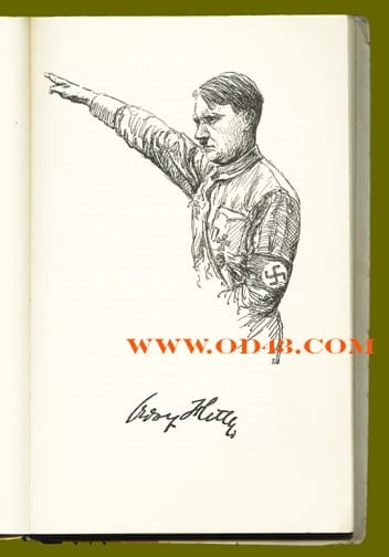 1933 BOOK ON ADOLF HITLER AND THE MEN IN HIS CABINET