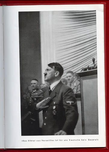 "HOFFMANN PHOTO BOOK ""MIT HITLER IN POLEN"""