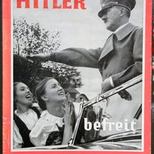 "HEINRICH HOFFMANN PHOTO BOOK ""HITLER BEFREIT SUDETENLAND"""