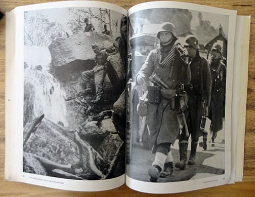 1941 HEINRICH HOFFMANN PHOTO BOOK ON THE CAMPAIGN IN NORWAY