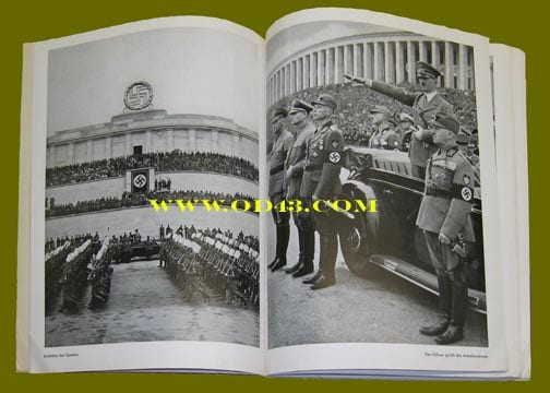 H.HOFFMANN PHOTO BOOK ON THE 1938 REICH PARTY DAYS