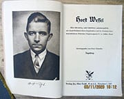 1933 BOOK COMMEMORATING HORST WESSEL