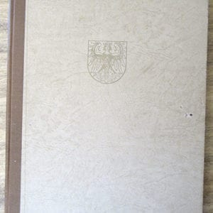 1943 PHOTO BOOK DEDICATED TO U-BOAT 453 COMMANDER