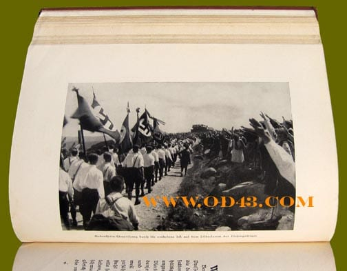 1936 PHOTO BOOK HONORING THE S.A.