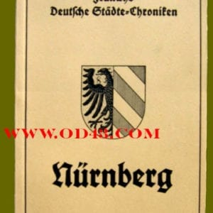 PHOTO BOOKLET ON NUREMBERG, CITY OF THE REICH PARTY DAYS
