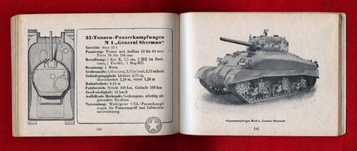 1944(!) NAZI PHOTO BOOK ON GERMAN ARMORED FORCES