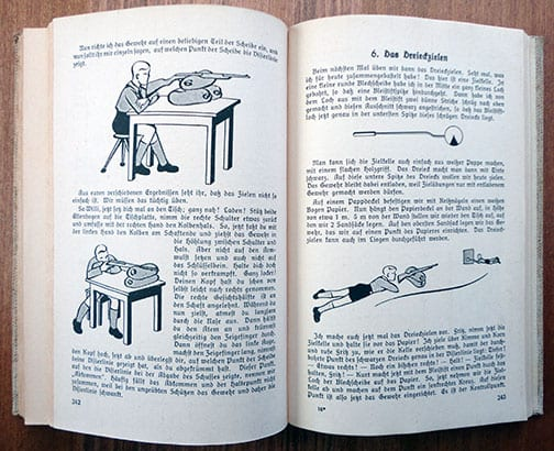 1934 FIRST EDITION HITLER-JUGEND JUNGVOLK TRAINING GUIDE