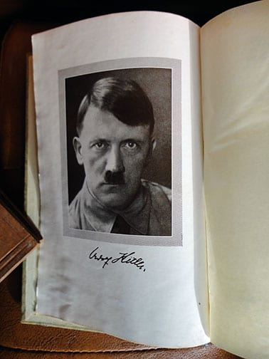 """PRIVATE OR LIBRARY BINDINGS OF ADOLF HITLERS """"MEIN KAMPF"""" (2) d"""