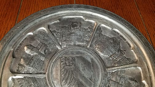 REICH PARTY DAYS WALL PLATE