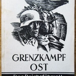 1942 SS-HAUPTAMT BOOK SECURING EUROPE FROM THE RUSSIAN HORDES