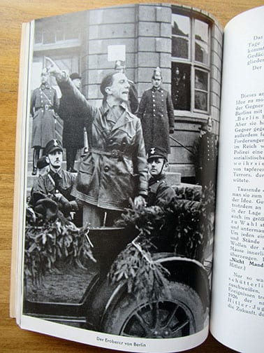 1940 SS PHOTO BOOK ON THE HISTORY OF THE NAZI PARTY