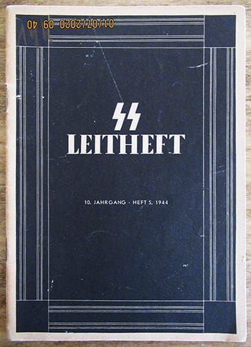 LATE WAR SS LEITHEFT ISSUE 5 / 1944