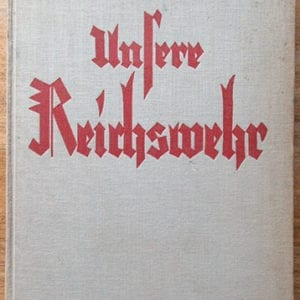 1934 THIRD REICH PHOTO BOOK ON THE REICHSWEHR