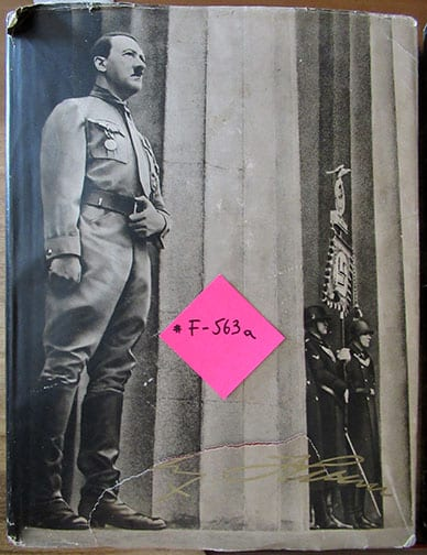 1936 PICTURE ALBUM ON ADOLF HITLER a