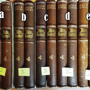 """2 VOLUME SPECIAL EDITION SETS OF ADOLF HITLERS """"MEIN KAMPF"""""""