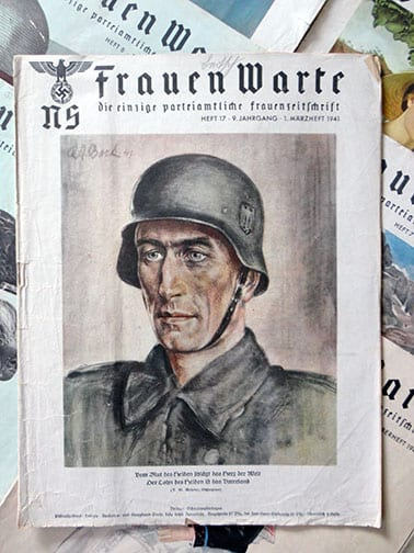 LOT OF 11 ISSUES OF THE RARE NS-FRAUENWARTE PERIODICAL