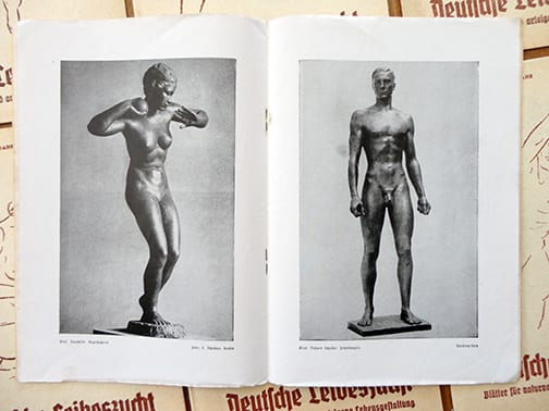 11 ORIGINAL ISSUES OF OFFICIAL THIRD REICH NUDE PERIODICAL
