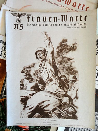 LOT OF 13 ISSUES OF THE RARE NS-FRAUENWARTE PERIODICAL