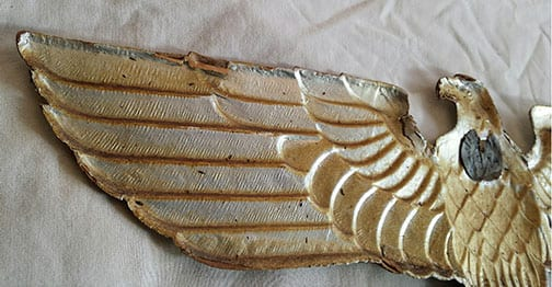 NAZI EAGLE WALL DECORATION WITH 16 INCHES WINGSPAN