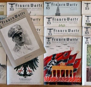LOT OF 17 ISSUES OF THE RARE NS-FRAUENWARTE PERIODICAL