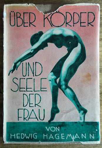 1927 PHOTO BOOK ON GYMNASTICS IN THE NUDE