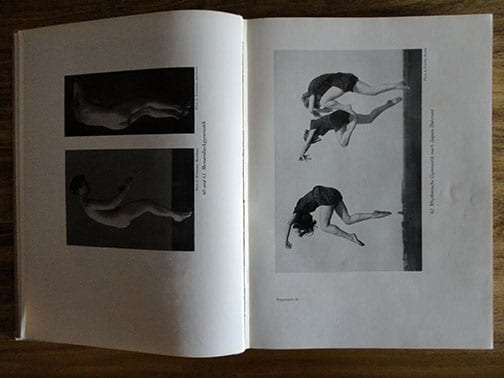 1927 PHOTO BOOK ON NUDITY, GYMNASTICS & DANCE