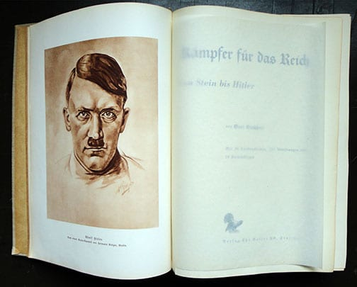1933 BOOK ON IMPORTANT GERMANS WHO FOUGHT FOR THE REICH