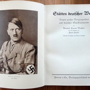 1934 PHOTOBOOK ON PLACES & EVENTS SACRED TO THE NAZIS