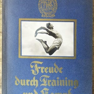 1934 NAZI PHYSICAL EXERCISES BOOK / ALBUM