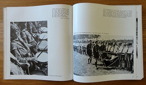 1934 PHOTO BOOK ON THE ACHIEVEMENTS OF THE N.S.D.A.P.