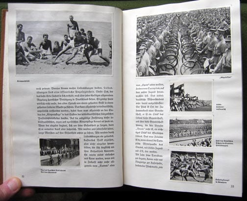 1934 PHOTO BOOK ON ORGANIZED SPORT IN NAZI GERMANY