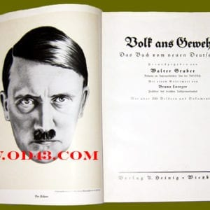 ONE OF THE FINEST ORIGINAL PHOTO BOOKS ON THE HITLER'S SEIZURE OF POWER