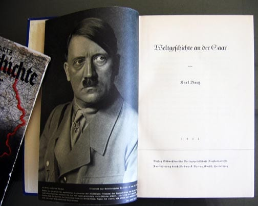 PHOTO BOOKS ON THE ANNEX OF THE SAAR 1935
