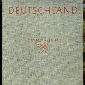 1936 THIRD REICH PHOTO BOOK ON GERMANY IN THE OLYMPIC YEAR