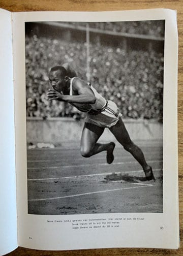 1936 XI. OLYMPIC GAMES BERLIN PHOTO BOOK IN THREE LANGUAGES