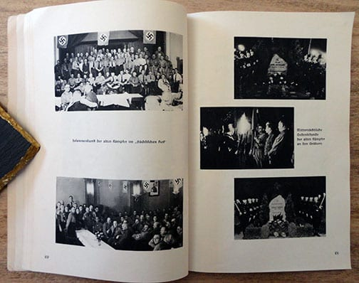 1936 NSDAP MARCHING IN LOWER SAXONIA PHOTO BOOK