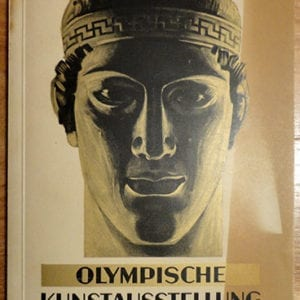 1936 ILLUSTRATED OLYMPIC ART EXHIBITION BERLIN GUIDE