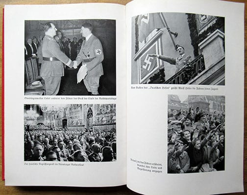 1936 N.S.D.A.P. REICH PARTY DAYS PHOTOBOOK