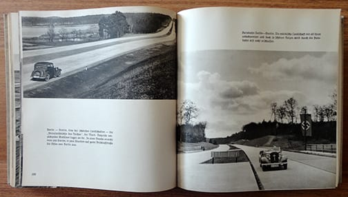 1935 REICHSAUTOBAHN PHOTO BOOK