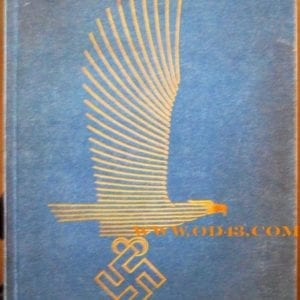1937 SPECIAL EDITION BOOK ON NEW LUFTWAFFE BUILDINGS