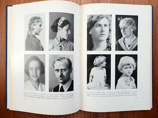 1943 PHOTO BOOK ON THE BEAUTY OF THE NORDIC RACE