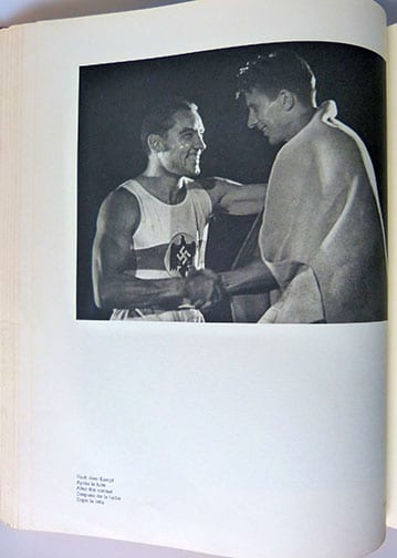 1937 BIG OLYMPIA PHOTO BOOK BY LENI RIEFENSTAHL