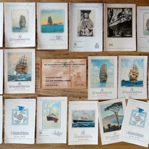 LOT OF MEMORABILIA OF A 1938 KdF CRUISE TO ITALY