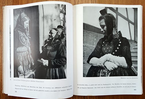 1938 THIRD REICH PHOTO BOOK ON GREATER GERMANY