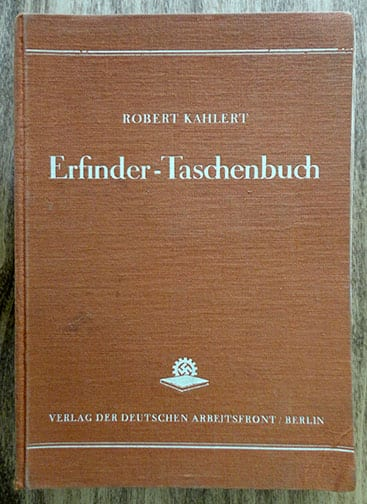 1939 D.A.F. GUIDE FOR THE GERMAN INVENTOR